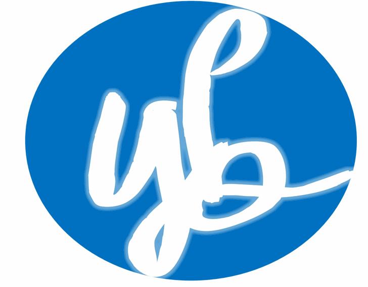 YBFlowerPower Font design logo