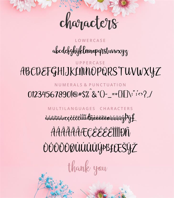 adelline personal use only Font text screenshot