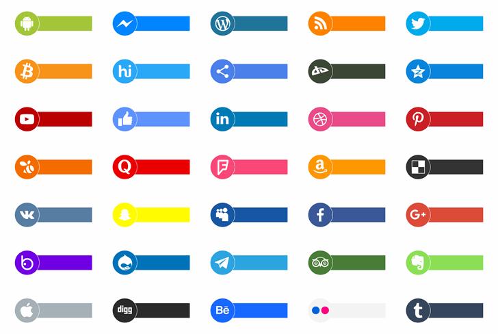 Social Type Font screenshot