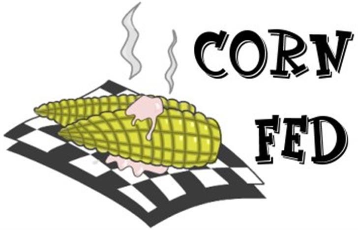 CornFed Font cartoon design
