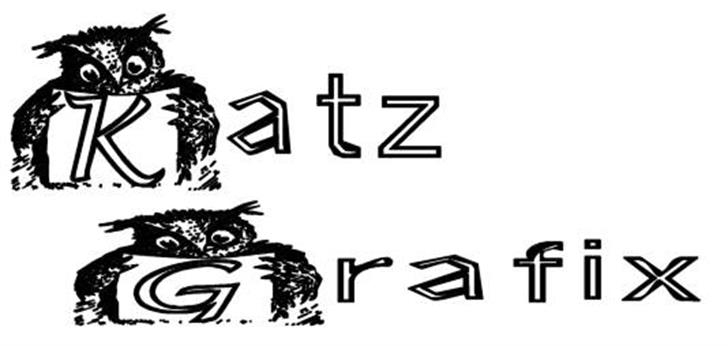 KG OWL2 font by Katz Fontz