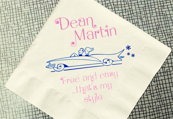 Dean Martin font by Mario Arturo