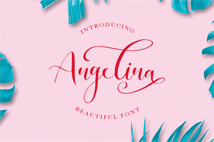 Angelina Font poster