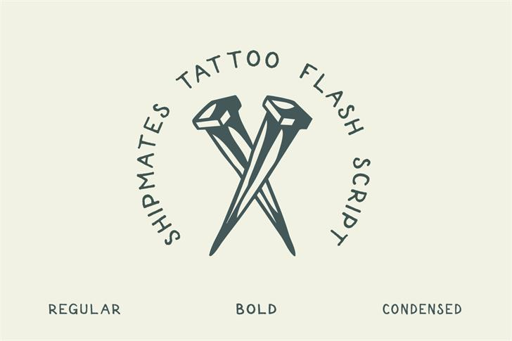 Shipmates Font design