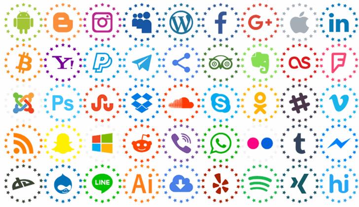 Type Icons Color font by elharrak