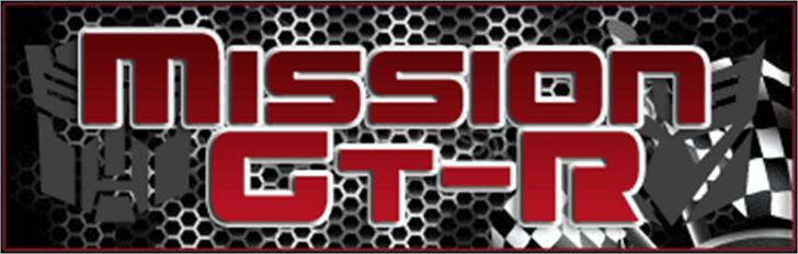 Mission GT-R Font design screenshot