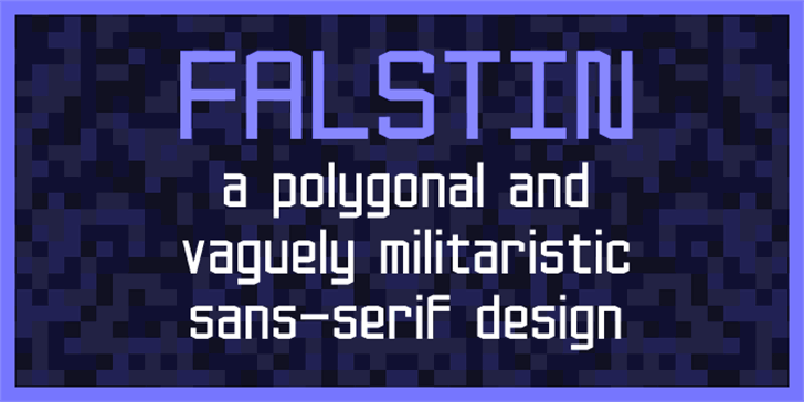 Falstin Font screenshot