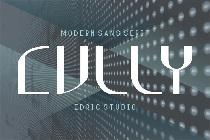 Cully Font poster
