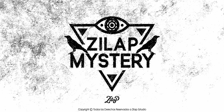 Zilap Mistery Personal Use font by ZILAP ESTUDIO - ZP