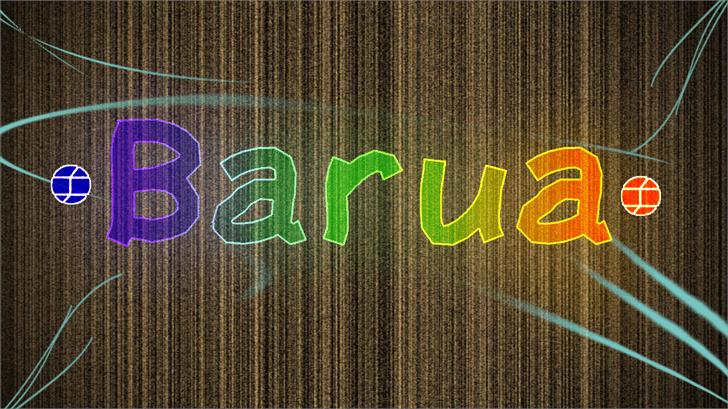 Barua font by Jake Luedecke Motion & Graphic Design