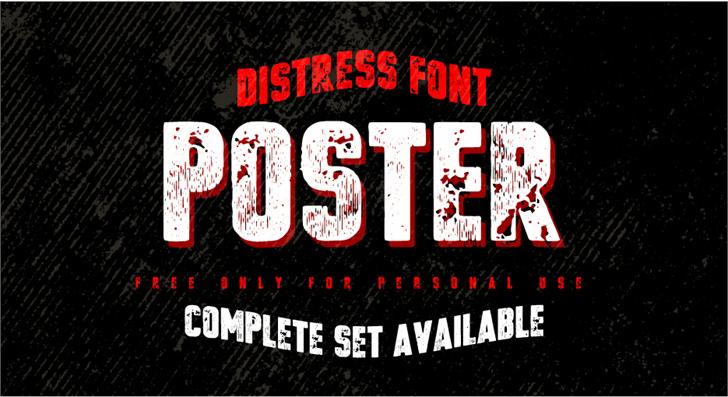 vtks poster Font poster text