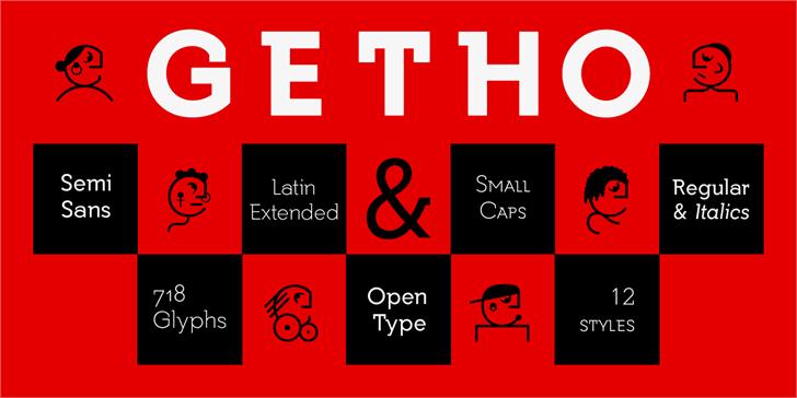 Getho font by deFharo