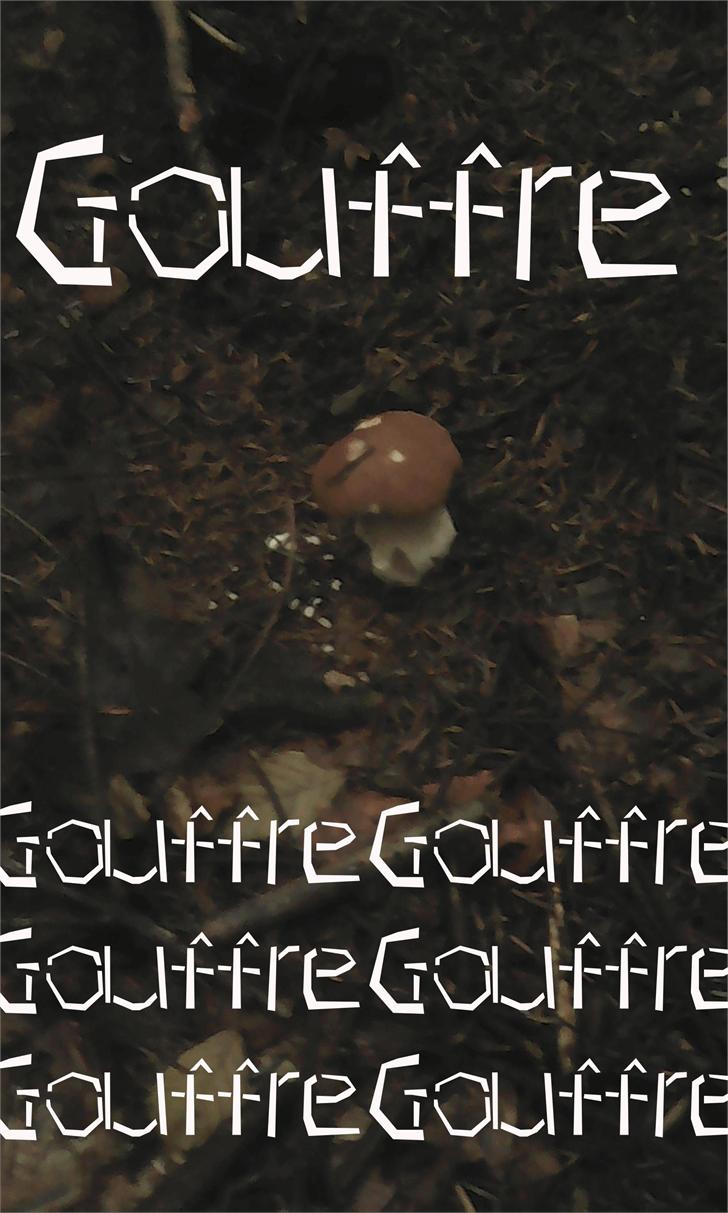 Gouffre Font poster