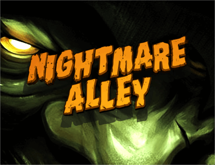 Nightmare Alley font by Iconian Fonts