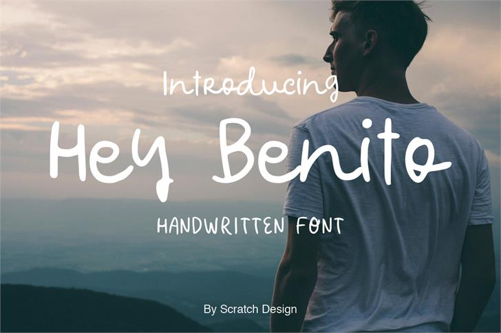 Hey Benito Font person outdoor