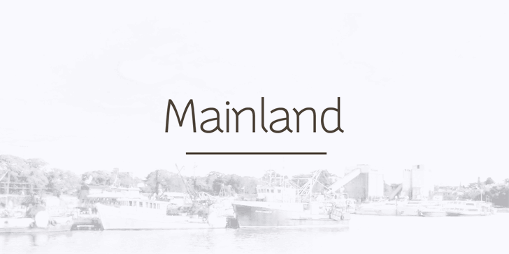 Mainland PERSONAL Font outdoor fog