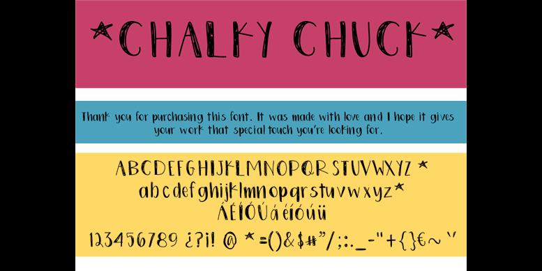 Thumbnail for ChalkyChuck