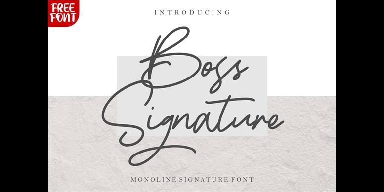Thumbnail for Boss Signature