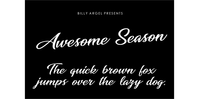 Thumbnail for Awesome Season Personal Use