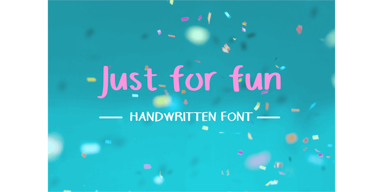 Thumbnail for Justforfunfont
