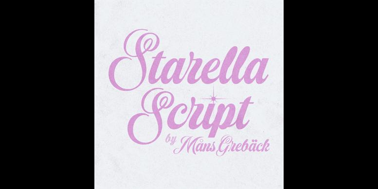 Thumbnail for Starella Script PERSONAL USE