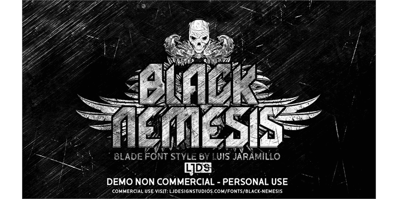 Thumbnail for Black Nemesis Personal Use