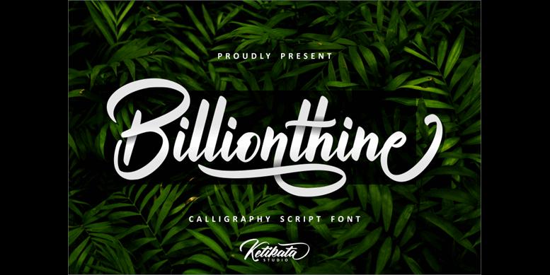 Thumbnail for Billionthine