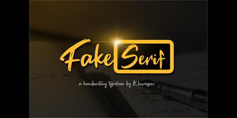 Thumbnail for Fake Serif