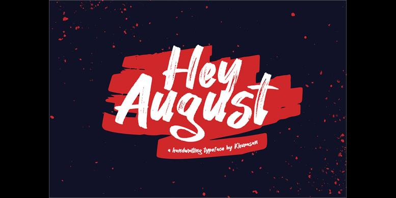 Thumbnail for Hey August