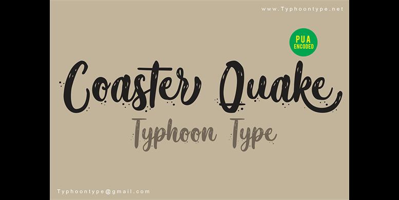 Thumbnail for Coaster Quake (Personal Use)