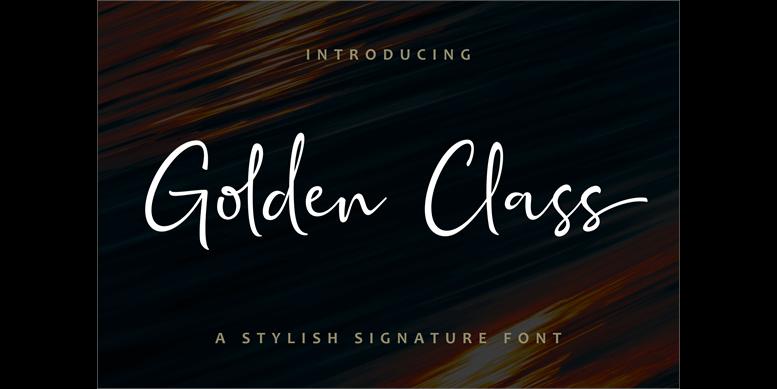 Thumbnail for Golden Class Script
