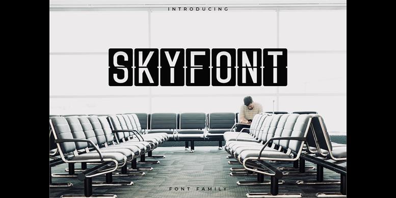 Thumbnail for Skyfont