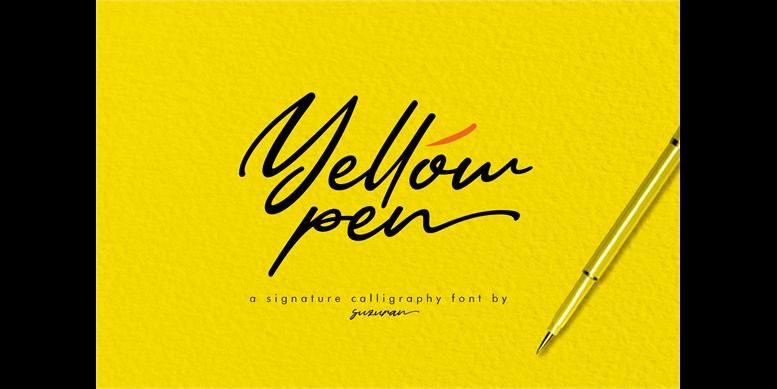 Thumbnail for Yellow Pen