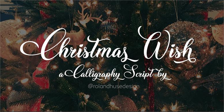 Thumbnail for Christmas Wish Calligraphy Call