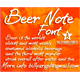 Thumbnail for BEER NOTE