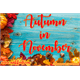 Thumbnail for Autumn in November