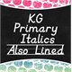 Thumbnail for KG Primary Italics