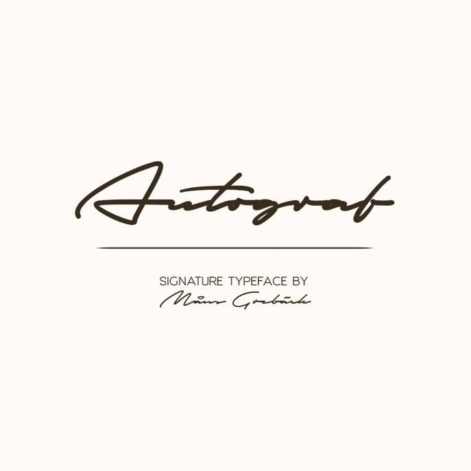 Autograf PERSONAL USE ONLY Font - FontSpace