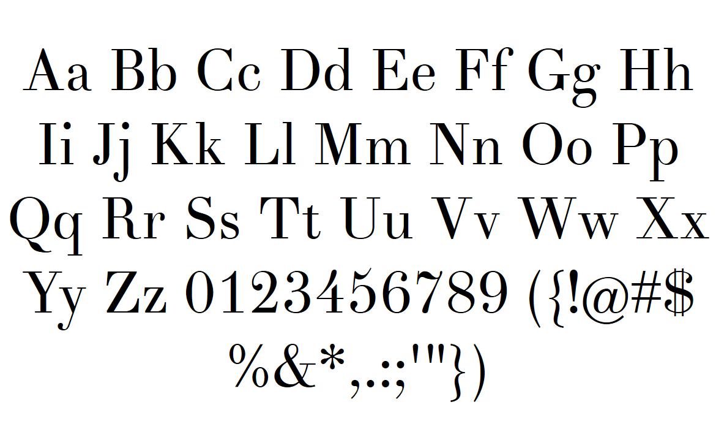 didot font download