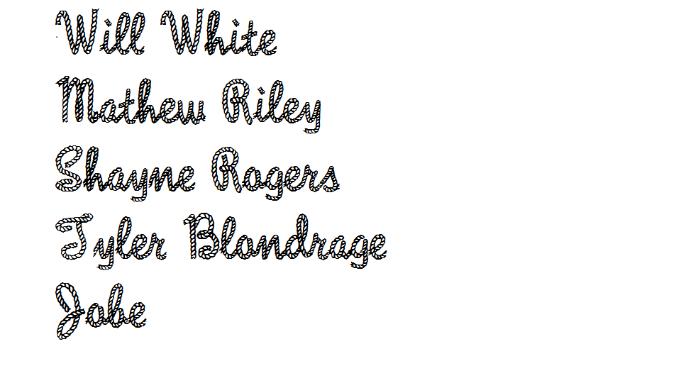 Rope Fonts - Download 16 free styles - FontSpace