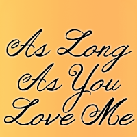 Image gallery for janda as long as you love me font fontspace.