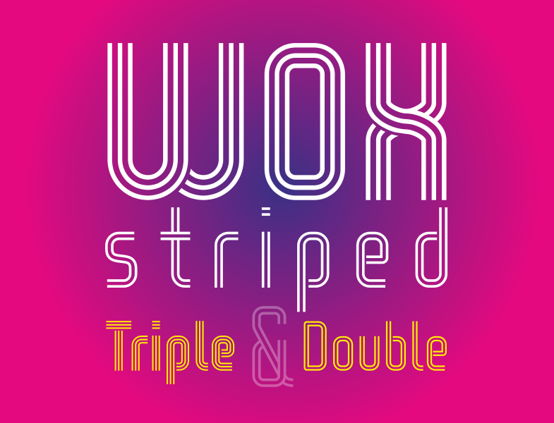 Double Fonts - Download 27 free styles - FontSpace