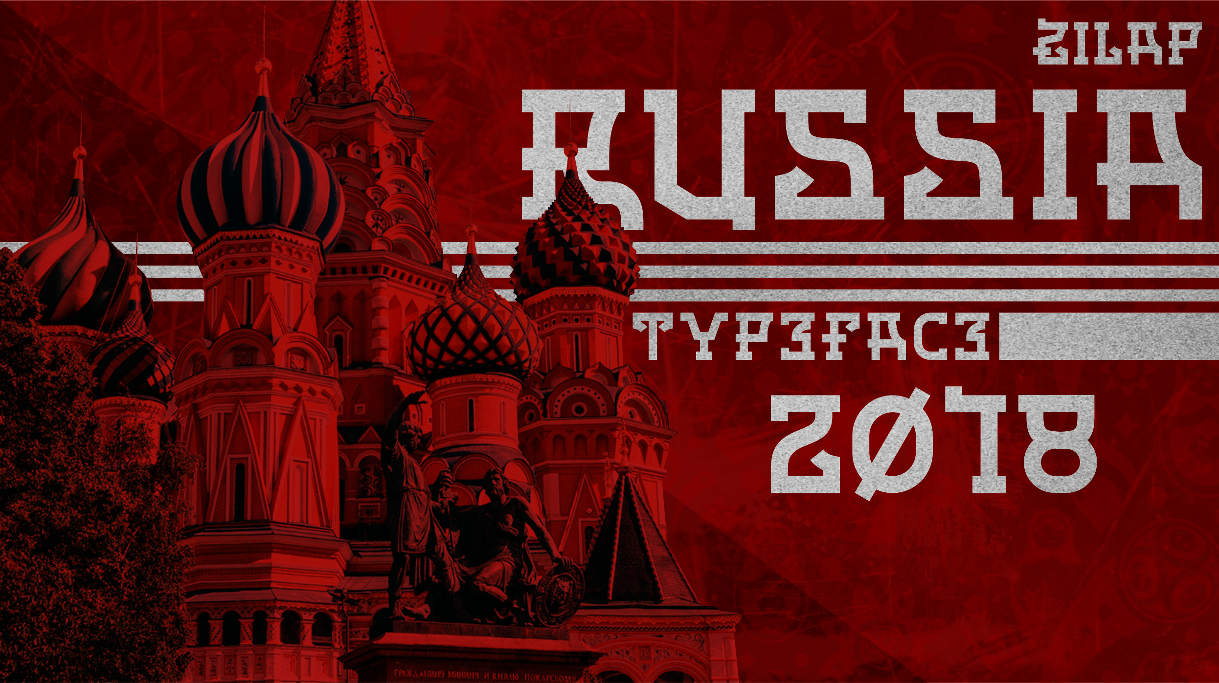 Zilap Russia Personal Use Font - FontSpace