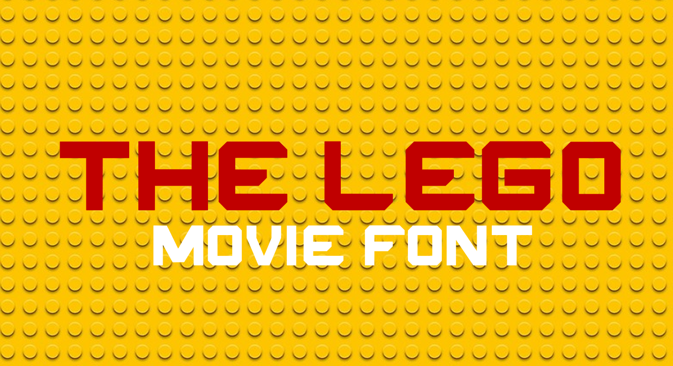 Lego Fonts - 14 styles - FontSpace
