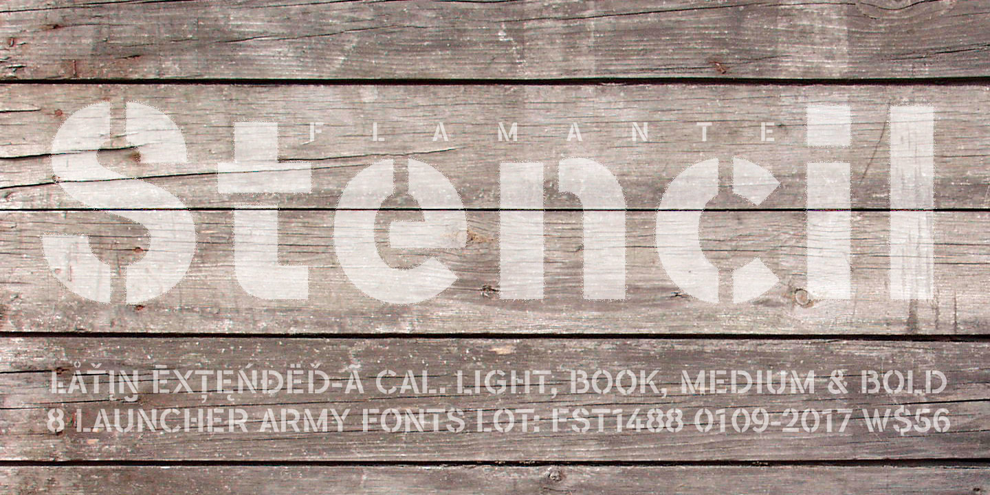 391 Free Stencil Fonts (Page 3) - FontSpace