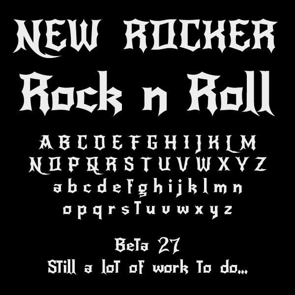 Rock and roll Fonts - Download 27 free styles - FontSpace