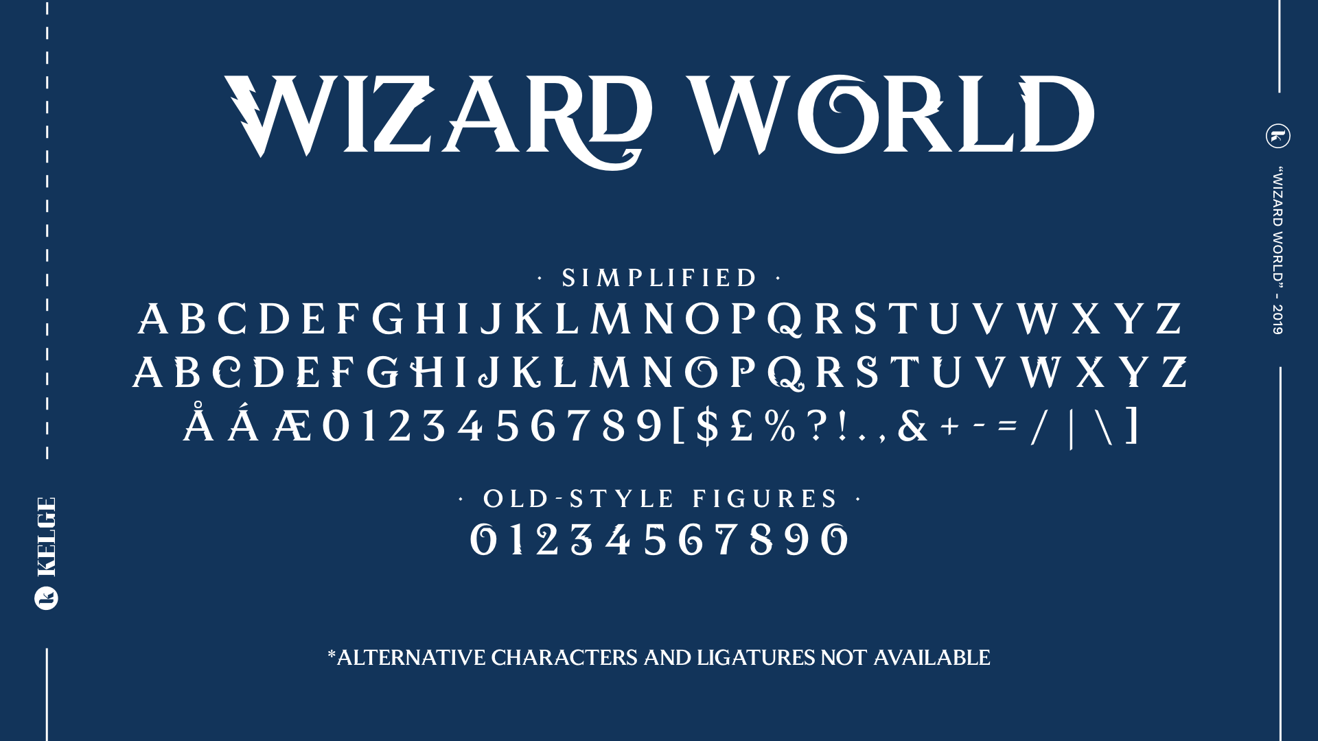 Wizard World Font - FontSpace