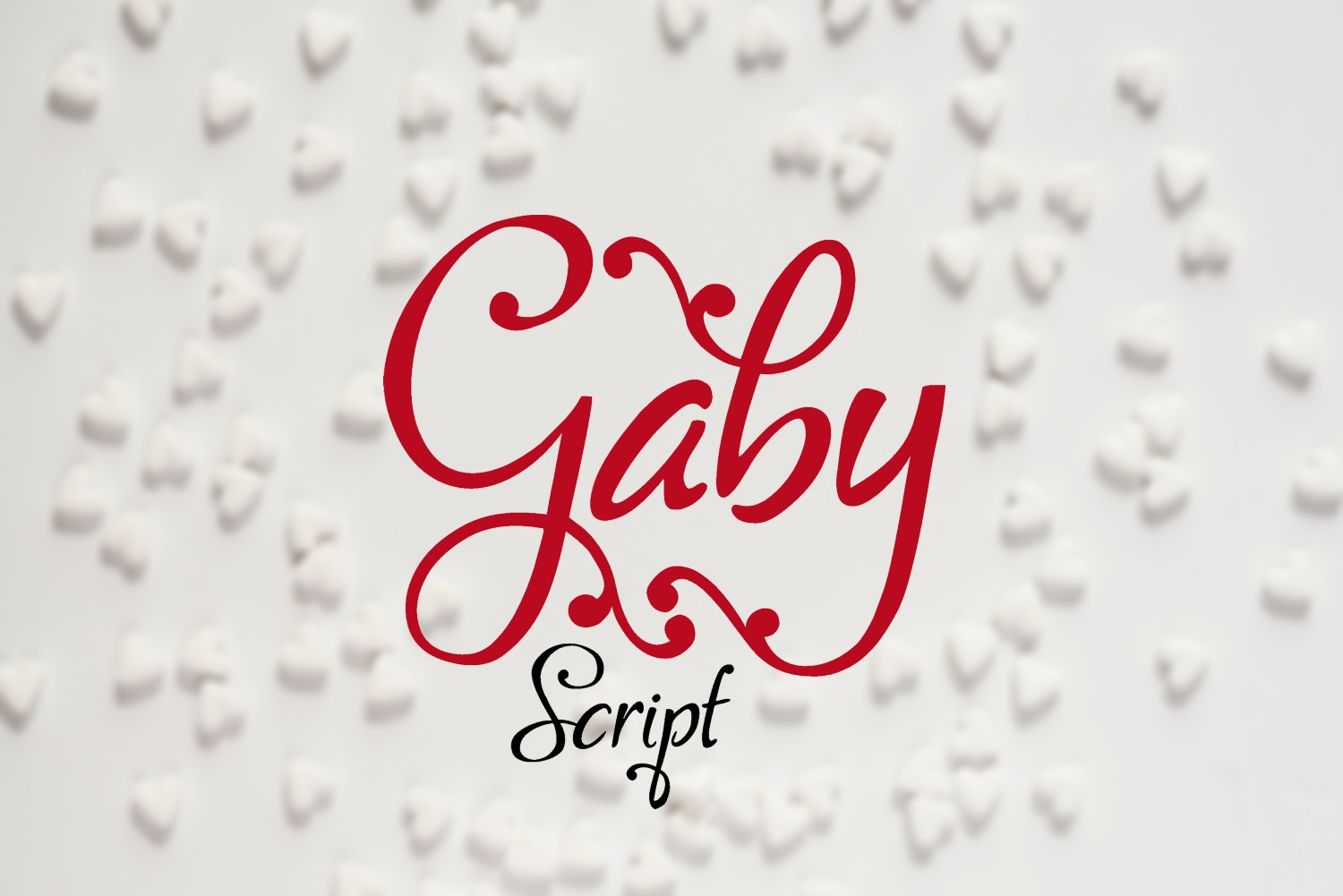 Gaby Font - FontSpace