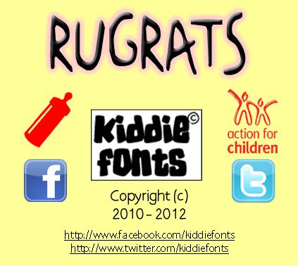 RUGRATS Font - FontSpace