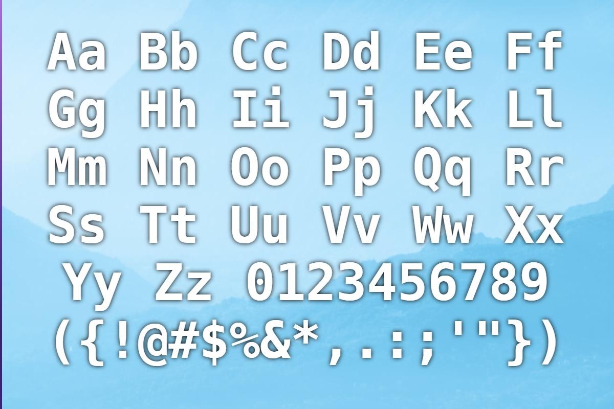 Unicode, Monospace Fonts - Download 2 free styles - FontSpace